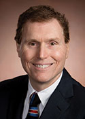 Photo of David L. Klocke, MD, FACHE